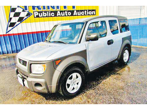 03 HONDA ELEMENT EX AC DUAL AUTO 4 PTS 13909 214 442-0747 4998