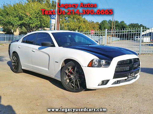 12 DODGE CHARGER RT AC DUAL ALLOYS AUTO CUSTOM RIMS PIEL SUPER LIMPIO SPOILER 469 909-6584