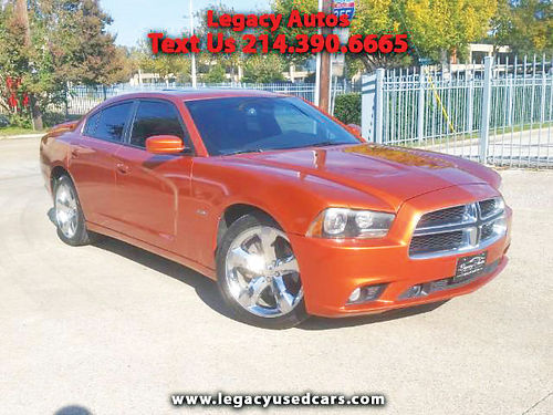 11 DODGE CHARGER RT 57L AC DUAL ALLOYS AUTO PIEL SUPER LIMPIO 4 PTS 469 909-6584 995ENG