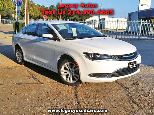 15 CHRYSLER 200 LIMITED AC DUAL ALLOYS AUTO SUPER LIMPIO 4PTS 469 909-6584 495ENG