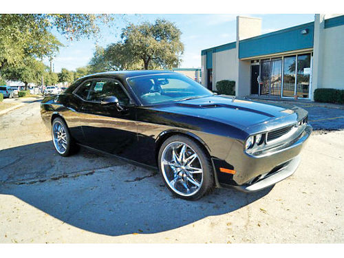 12 DODGE CHALLENGER SXT AC DUAL ALLOYS AUTO CUSTOM RIMS SUPER LIMPIO 469 909-6584 495ENG