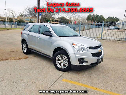 15 CHEVY EQUINOX LS 2WD AC DUAL ALLOYS AUTO SUPER LIMPIA 469 909-6584 995ENG