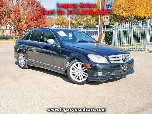09 MERCEDES BENZ C300 LUXURY AC DUAL ALLOYS AUTO LUXURY PACKAGE PIEL QUEMAC SISNAV 4 PTS