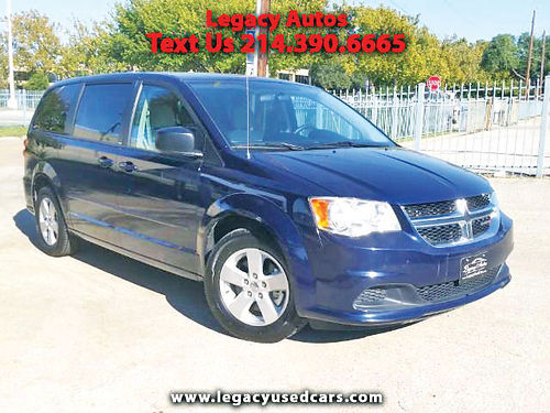 13 DODGE GRAND CARAVAN SE 3RA FILA AC DUAL ALLOYS AUTO SUPER LIMPIA 469 909-6584 495ENG