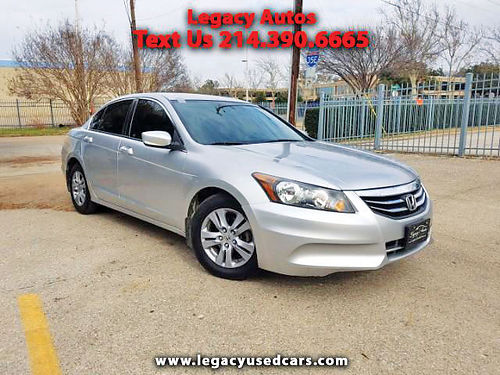 11 HONDA ACCORD LX-P AC DUAL ALLOYS AUTO SUPER LIMPIO 4PTS 469 909-6584 495ENG