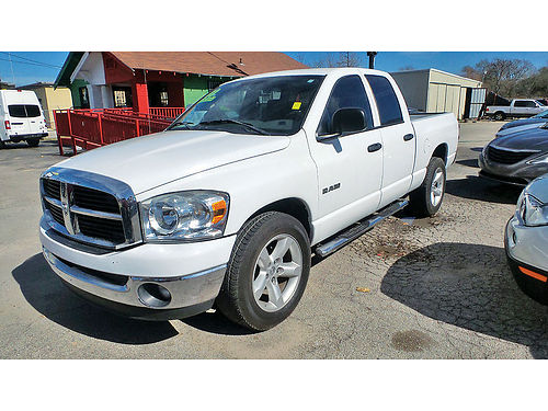 08 DODGE RAM 1500 LONE STAR EDITION AC TELEC CD 713 742-0700