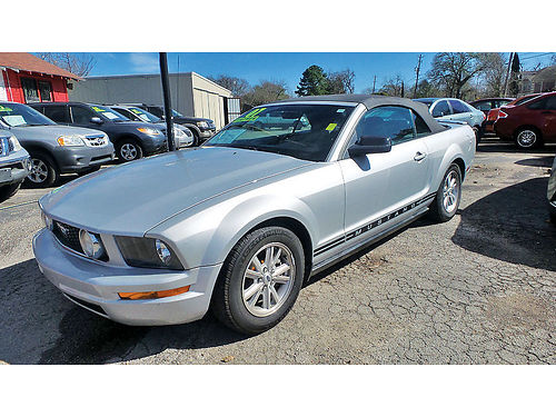 07 FORD MUSTANG AUTO CONVERTIBLE PIEL AC TELEC CD 713 742-0700