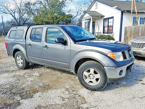 07 NISSAN FRONTIER AC DUAL AUTO SUPER LIMPIA 4 PTS 444 133-4693 7500