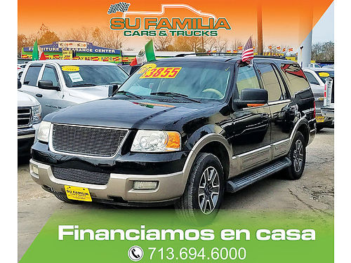 03 FORD EXPEDITION XLT  713 694-6000 3850