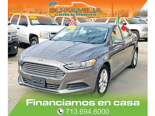 13 FORD FUSION  713 694-6000 999ENG