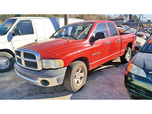 04 DODGE RAM 1500 AUTO AC TELEC CD 2993 281 447-0002 3999