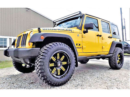 09 JEEP WRANGLER UNLIMITED 4X4 ALLOYS AUTO 4 PTS AC TELEC CD VAJUST 281 377-6835