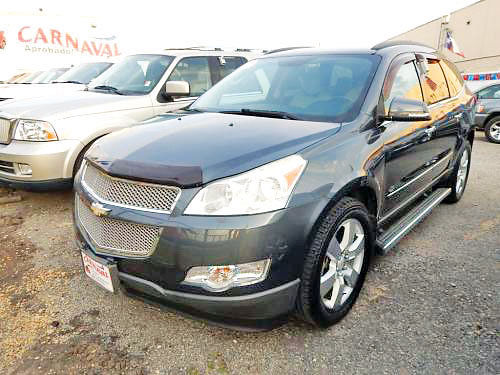 10 CHEVY TRAVERSE LTZ 3RA FILA AC DUAL ALLOYS AUTO ESTRIBOS PIEL 4 PTS 469 718-1396