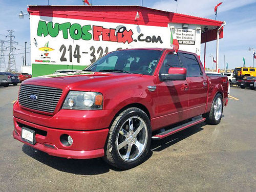 08 FORD F-150 FX2 AC DUAL ALLOYS AUTO SUPER LIMPIA 4PTS 214 321-5252 1500ENG
