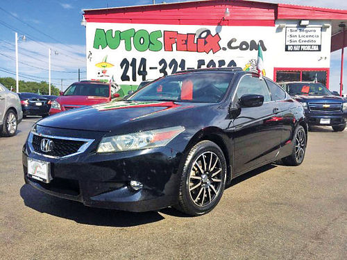 11 HONDA ACCORD AC DUAL ALLOYS AUTO PIEL QUEMAC 4PTS 214 321-5252 1500ENG