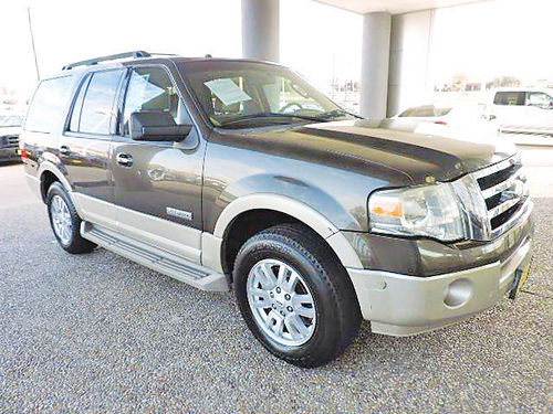 08 FORD EXPEDITION EDDIE BAUER 3RA FILA AC DUAL ALLOYS AUTO BLUETOOTH ESTRIBOS PIEL TVDVD
