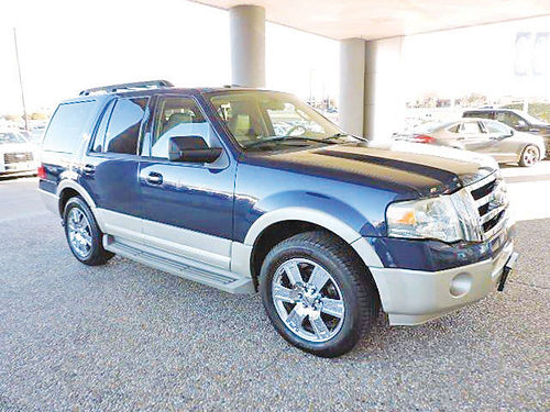 10 FORD EXPEDITION EDDIE BAUER 3RA FILA AC DUAL AUTO BLUETOOTH CUSTOM RIMS PIEL QUEMAC SIS