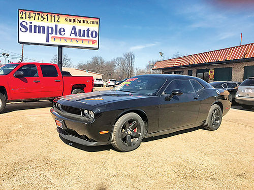 12 DODGE CHALLENGER RT ALLOYS AUTO 2 PTS AC CRUCERO AMFM CD 214 736-9501