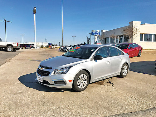 16 CHEVY CRUZE LIMITED BLUETOOTH PIEL 11000K CD UN DUENO KEYLESS ENTRY P15305 877 597-8602