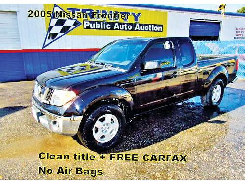 05 NISSAN FRONTIER AC DUAL ALLOYS AUTO 4 PTS 14066 214 442-0747 5998