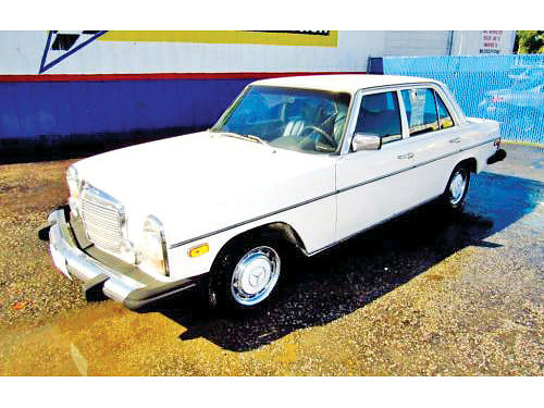 76 MERCEDES BENZ 240D ALLOYS AUTO DIESEL 4 PTS AUTOMATIC CLASSIC 13867 214 442-0747 3486