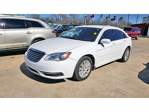 12 CHRYSLER 200 LX AUTO AC TELEC CD 281 591-2200