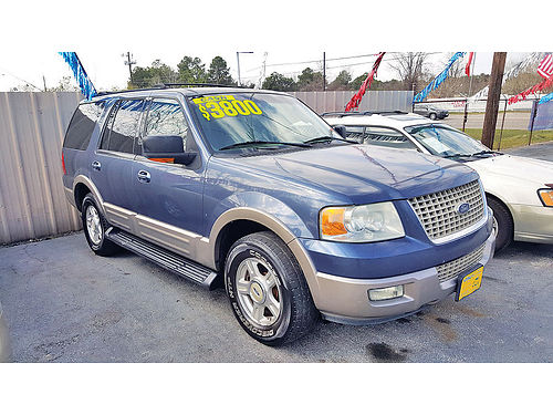 03 FORD EXPEDITION EDDIE BAUER 3RA FILA AC DUAL AUTO ESTRIBOS PIEL AC TELEC CD 281 445-