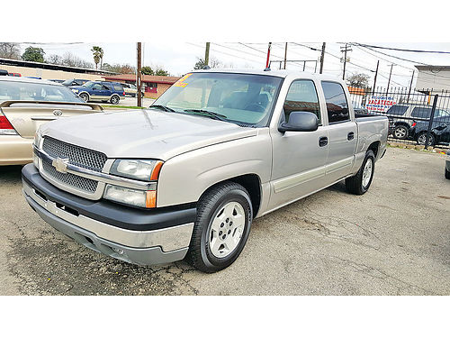05 CHEVY SILVERADO 1500 CREW CAB AUTO PIEL AC TELEC CD SPRAY IN BED LINER 713 675-1661 995