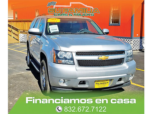 12 CHEVY TAHOE 212295 832 672-7122