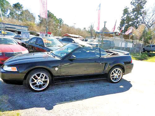 99 FORD MUSTANG CONVERTIBLE AUTO PIEL 3356 281 447-0002 2600