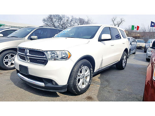 11 DODGE DURANGO 3RA FILA AC DUAL ALLOYS AUTO BLUETOOTH V8 214 442-0763