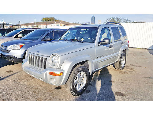 02 JEEP LIBERTY AUTO PIEL AC TELEC CD 713 780-0807 4994 894ENG