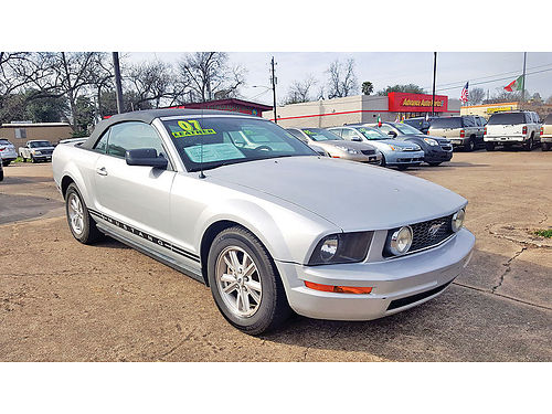 07 FORD MUSTANG AUTO CONVERTIBLE PIEL AC TELEC CD 281 447-4400