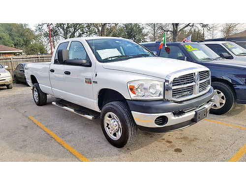 08 DODGE RAM 2500 HEAVY DUTY AUTO AC TELEC CD HEMI 713 574-1581
