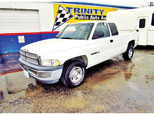 99 DODGE RAM 1500 EXT CAB AC DUAL ALLOYS AUTO V6 4 PTS 14214C 214 442-0747 3495