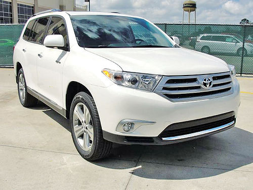 11 TOYOTA HIGHLANDER LIMITED ALLOYS AUTO PIEL 4 PTS AC TELEC CD VAJUS 713 341-9624 14