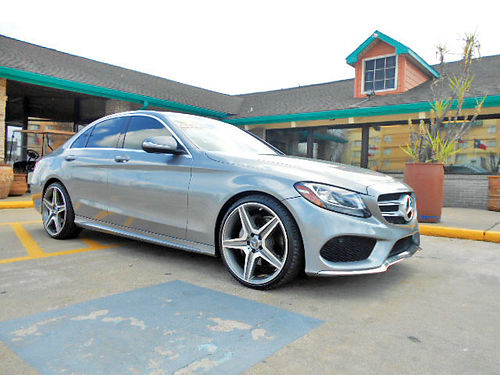 15 MERCEDES BENZ C300 LUXURY AUTO PIEL 30K MILLAS TELEC CD 713 780-1616 26950