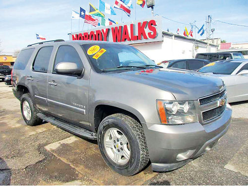 07 CHEVY TAHOE ALLOYS AUTO 4 PTS AC TELEC CD VAJUST 713 358-4430 1995ENG