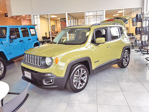 15 JEEP RENEGADE ALLOYS AUTO BLUETOOTH CD TODO ELECTRICO 214 451-5963 18995 329MES