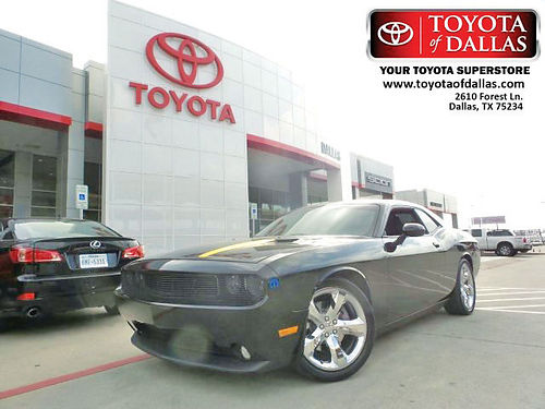 12 DODGE CHALLENGER RT AC DUAL ALLOYS AUTO PIEL V8 2 PTS CH176974 866 213-4016 285MES