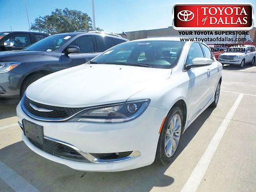 15 CHRYSLER 200 C AC DUAL ALLOYS AUTO 4 PTS FN575510 866 213-4016 14622