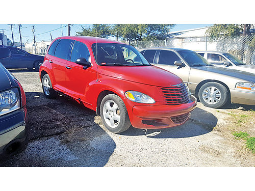 04 CHRYSLER PT CRUISER AC DUAL ALLOYS AUTO SUPER LIMPIO 214 565-5699 2800