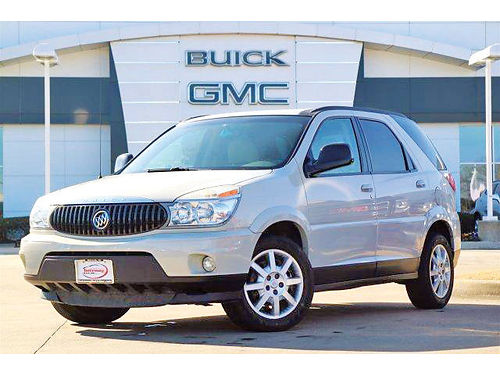 06 BUICK RENDEZVOUS AC DUAL ALLOYS AUTO 4 PTS 3930A 214 736-9498 7995