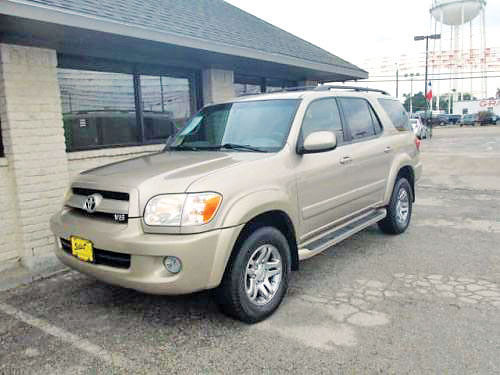 07 TOYOTA SEQUOIA SR5 ALLOYS AUTO BLUETOOTH ESTRIBOS PIEL SISNAV CD TODO ELECTRICO 11323