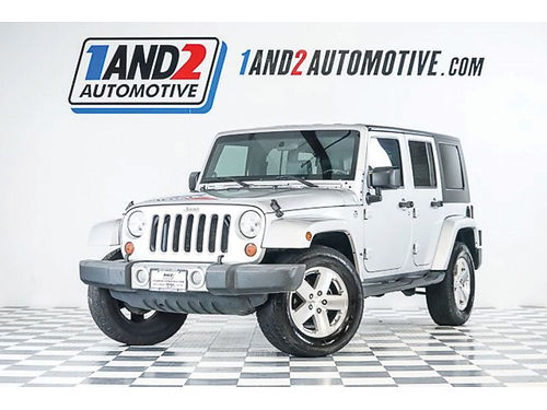 08 JEEP WRANGLER UNLIMITED SAHARA 4X4 AC DUAL ALLOYS AUTO SUPER LIMPIA 4 PTS TECHO DURO C8