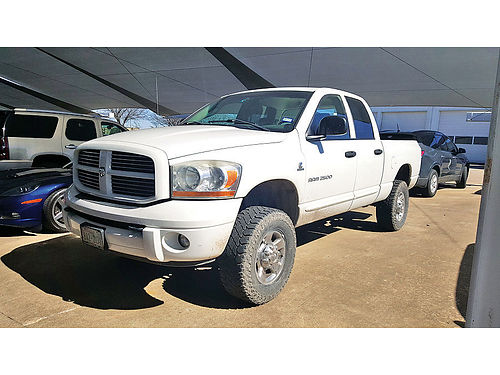 06 DODGE RAM 2500 QUAD CAB 4X4 ALLOYS AUTO DIESEL ESTRIBOS LIFTED PROTCAJA V8 6J248301 88