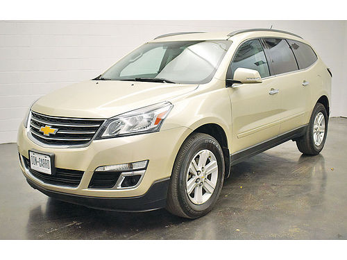 14 CHEVY TRAVERSE LT AUTO BLUETOOTH 4 PTS AC CRUCERO AMFM CD POLARIZADO 7438 214 317-4