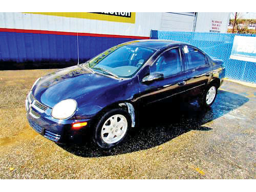 05 DODGE NEON SXT AC DUAL ALLOYS AUTO 4 PTS 14061 214 442-0747 2997