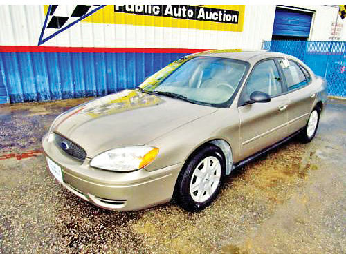 06 FORD TAURUS AC DUAL ALLOYS AUTO 4 PTS 13175 214 442-0747 3495