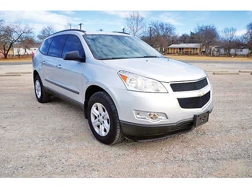12 CHEVY TRAVERSE LS AC DUAL ALLOYS AUTO 4 PTS 166310 214 296-4026 10995